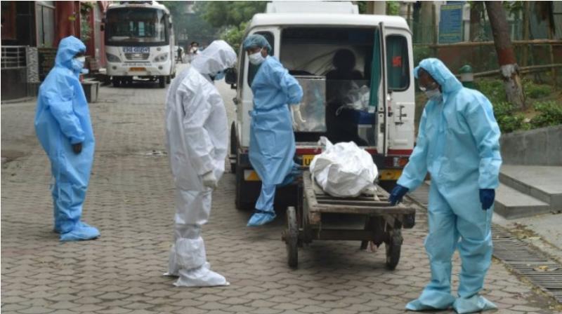 India's death toll from the coronavirus hit 50,000 on Monday. (PTI Photo)