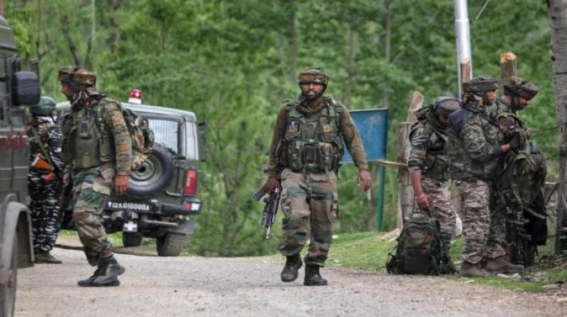 Encounter in J-K's Baramulla after three security personnel killed in attack. (File Photo- PTI)