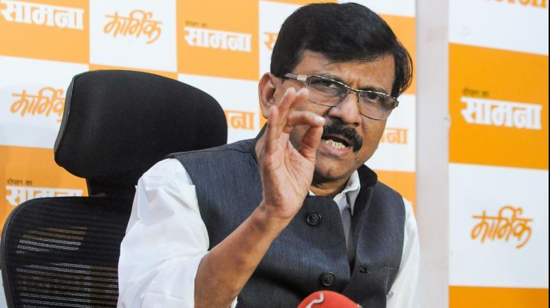 Shiv Sena leader Sanjay Raut. (PTI Photo)