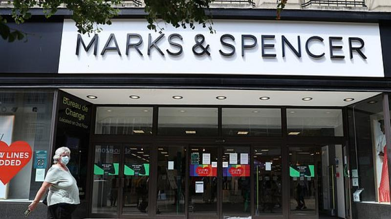 UK retailer Marks and Spencer to axe 7,000 jobs. (AFP Photo)