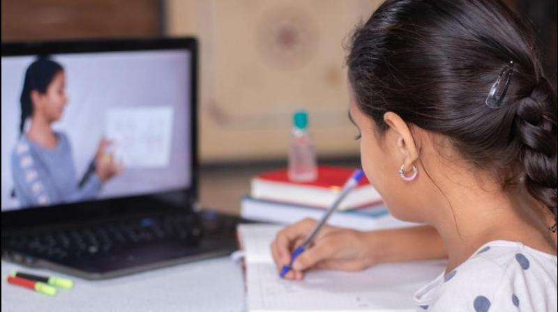 The survey with over 34,000 partcipants has pointed out that lack of knowledge of using devices for effective educational purposes caused hindrance in the learning process. (Representative Image)
