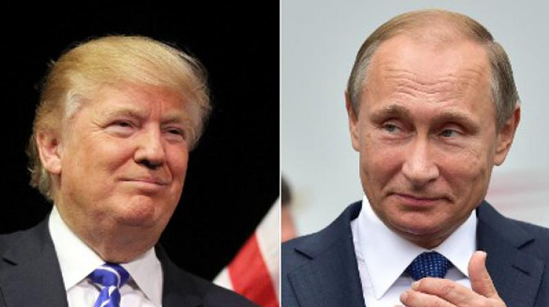 'President Trump thanked President Putin for acknowledging America's strong economic performance in his annual press conference,' says White House in readout of the call. (Photo: AFP)