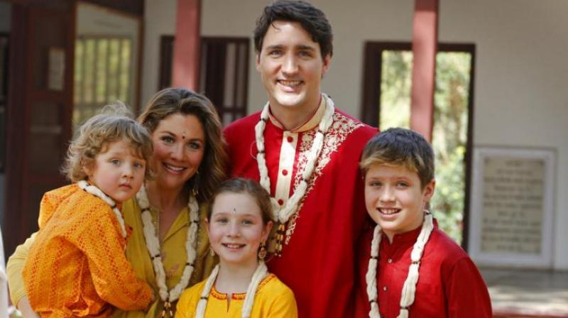Trudeau family goes 'desi', wins hearts with their sartorial choices