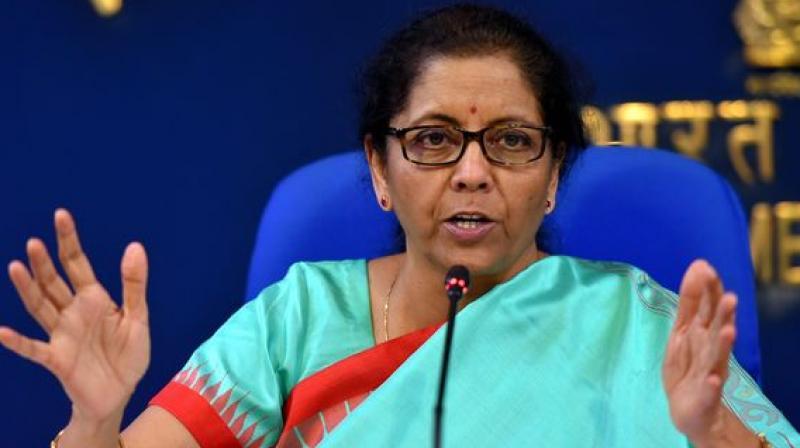 Finance minister Nirmala Sitharaman. (PTI)
