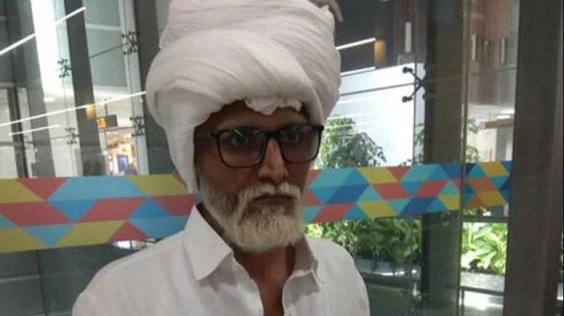 He allegedly used a fake passport with the name of Amrik Singh, aged 81 years. (Photo: Twitter   CISFHQ)