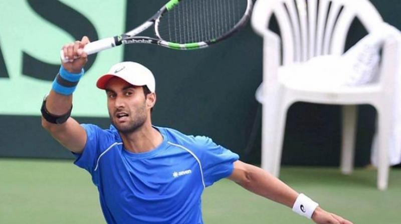Bhambri, 2009 Australian Open Junior Championship, will now face Guido Pella of Argentina for a place in the quarter-finals.