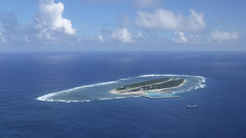 Washington and other western countries have insisted that disputes must be settled legally and that freedom of navigation be respected.(Photo: AP)