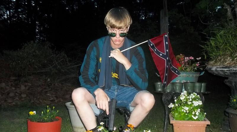 South Carolina church attacker Dylann Roof. (Photo: AFP)
