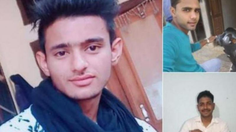 In the police complaint registered at Kanina, police have identified three accused- Pankaj, Manish, and Nishu. Pankaj is a defence personnel stationed in Rajasthan. (Photo: ANI)