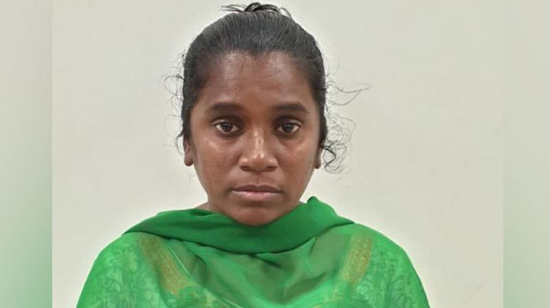 Sreelatha was apprehended by the Cyber Crime sleuths in Bangalore. (Photo: ANI)