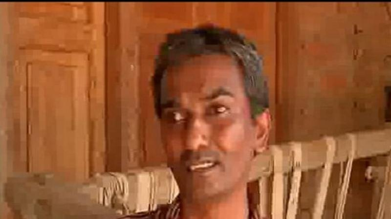 Divyang lost his eyesight in an accident before getting a job. This made him dependent on others and his family's survival became very difficult. (Photo: ANI)