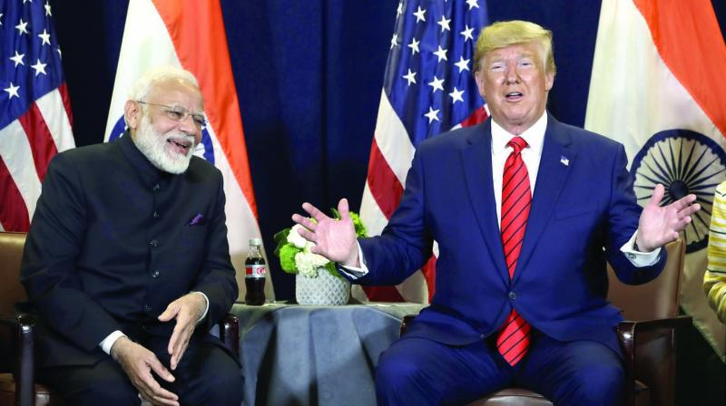 """US President Donald Trump on Friday said that America has a """"very good"""" relationship with India and """"lots of things"""" are happening between the two countries. (Photo: File)"""