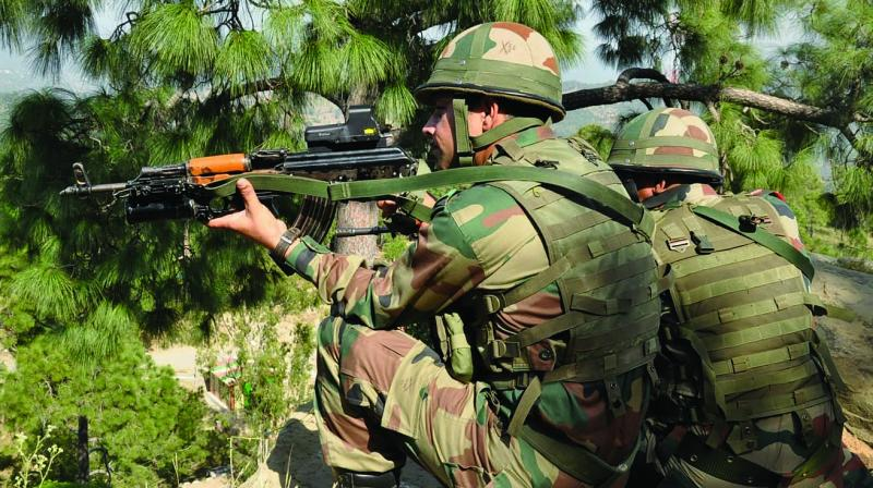 A search operation by 4 Assam Rifles (28 Sector) was launched earlier in the day, where armed terrorists ambushed the Regiment at Chamoli Top at around 05:30 am. (Photo: File/Representational)