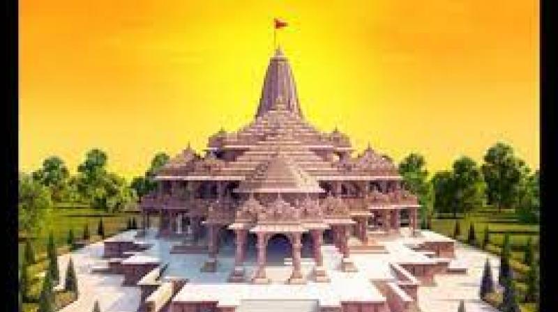 Representational picture of Ram Mandir in Ayodhya