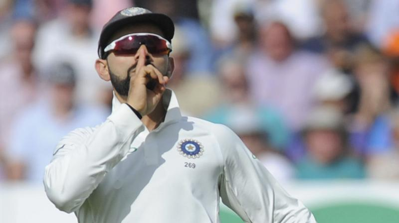 After beating West Indies by 257 runs in the second Test here on Monday, Kohli now has 28 wins from 48 Tests, surpassing Mahendra Singh Dhoni's 27 wins from 60 Tests as captain. (Photo: File)