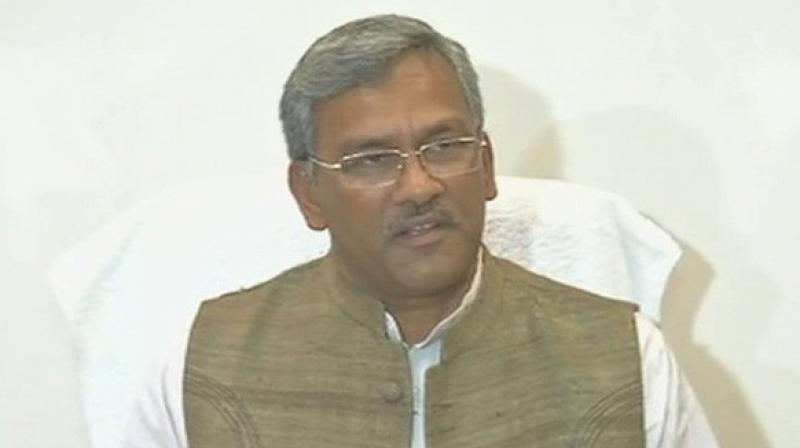 Rawat, while addressing the locals on the occasion, congratulated the cricket authority of the state after the Cricket Association of Uttarakhand got the full membership of BCCI on Tuesday. (Photo: ANI)