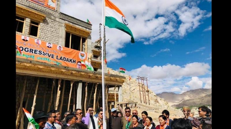 Though locals have welcomed the Centre's decision to revoke Article 370 and make Ladakh a Union territory, they fear the influx of outsiders would lead to a change in the region's demography, jeopardize their culture and identity. (Photo: Representational | File)