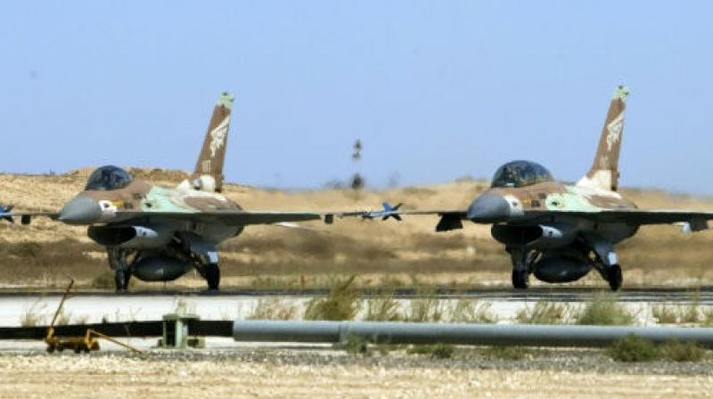 Police said the F16 crashed in the Jezreel valley in northern Israel. (photo: AFP | Representational)