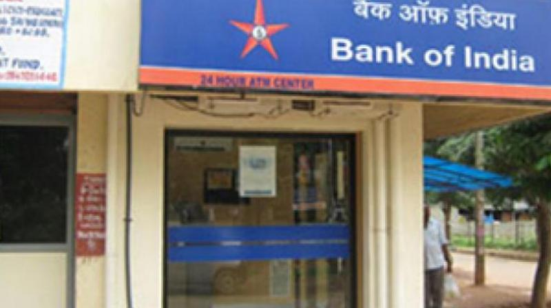 The bank had reported a net loss of Rs 3,969 crore in the same quarter of the previous year.