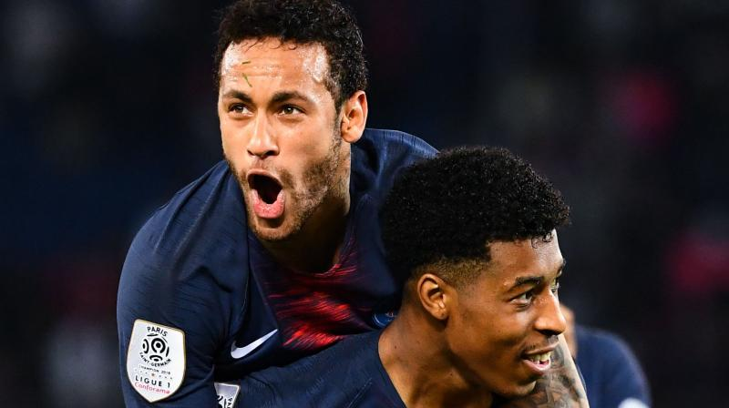 Neymar's return at the start of the second half replacing Layvin Kurzawa is the cherry on the cake for Thomas Tuchel's side, who had been without the Brazilian superstar since January 23 with a right foot injury. (Photo: AFP)
