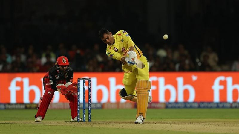 Due to the early collapse of CSK's batting line-up, the team was down at 28-4 when the skipper walked to the crease in the sixth over and stayed till the end of the chase. (Photo: BCCI)