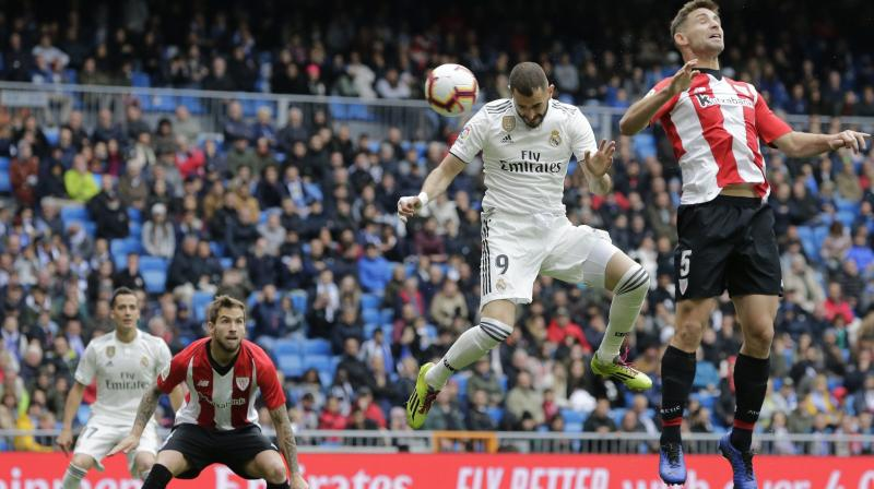 Real Madrid are currently third in the league, four points behind Atletico Madrid. (Photo: AP)