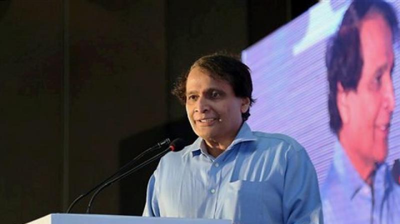 Union Minister Suresh Prabhu. (Photo: PTI)