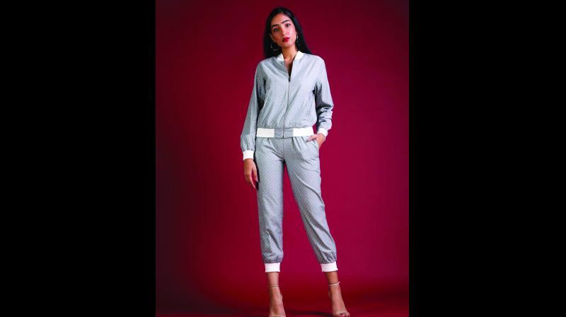 Rengé jacket by Sheena Uppal