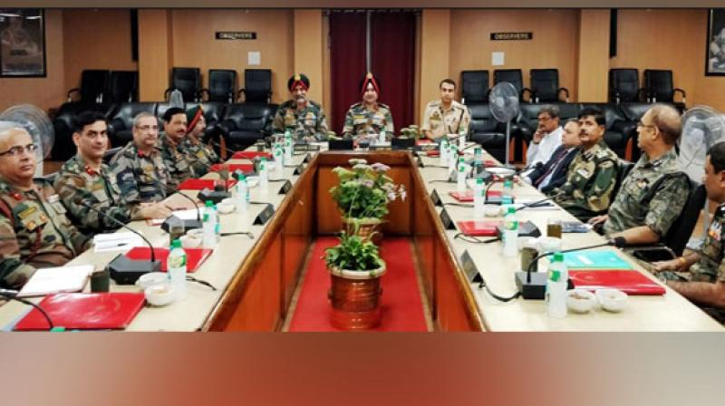 In view of the prevailing security situation, Section 144 -- which prevents the gathering of more than four people in an area -- has been imposed in the state. Mobile internet services have also been suspended in Jammu and the Valley. (Photo: ANI)