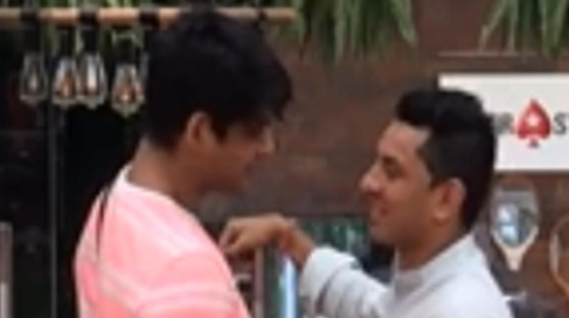 Sidharth Shukla and Tehseen Poonawala. (Photo: VOOT)