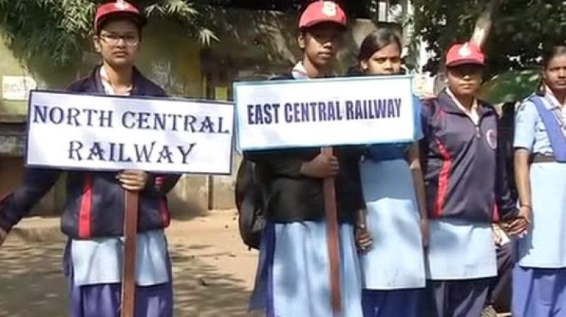 The event was organised at the sports complex of Mancheswar Carriage Repair Workshop of the East Coast Railway in Bhubaneswar. (Photo: ANI)