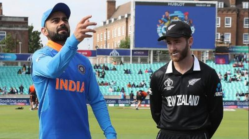 New Zealand are currently sitting at fourth, having won five out of their nine games, while losing the other three. India are currently placed at first, after winning seven games from nine matches (including one wash-out). (Photo: ICC/Twitter)