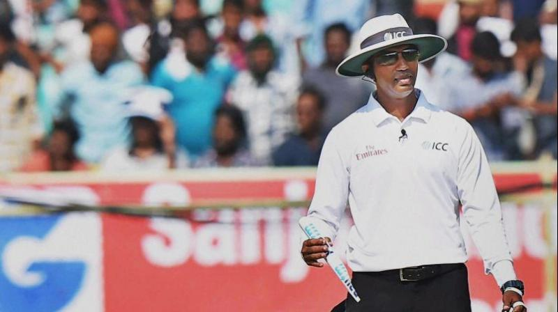 Dharmasena was originally appointed as the TV umpire for the 4th Test match but will now stand on-field with Erasmus in both the 4th and 5th Tests. (Photo: PTI)
