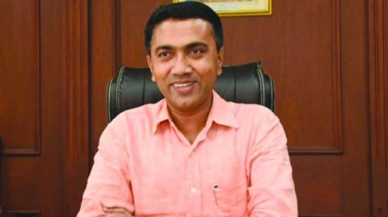 'Both of them have joined the BJP to ensure stability of the government,' Sawant told reporters after Ajgaonkar and Pawaskar joined his party.  (Photo: File)
