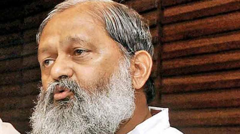 Haryana Health Minister Anil Vij. (Photo: File)