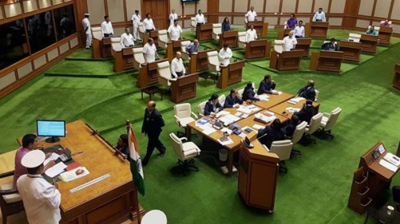 Manohar Parrikar won the trust vote in the Goa Assembly 22-16. (Photo: PTI)