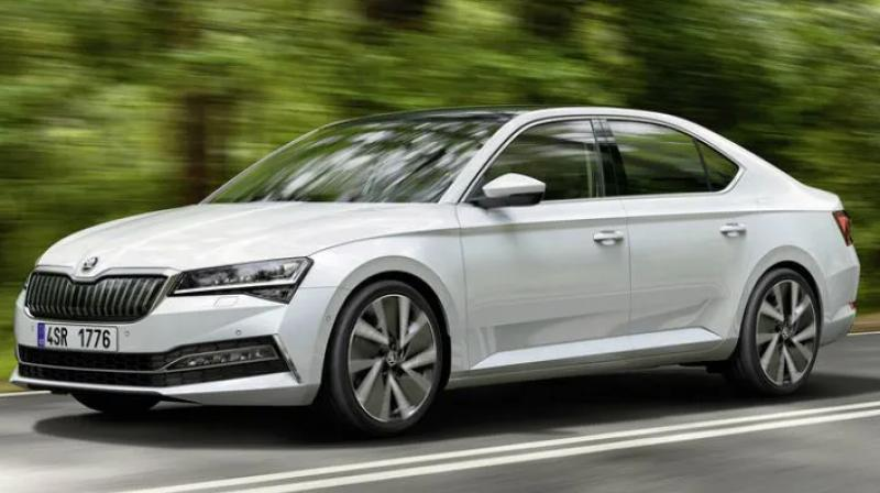The Superb iV employs a 1.4-litre TSI petrol engine mated to an 85kW electric motor.