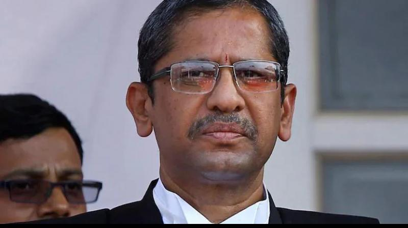 Chief Justice of India (CJI) Justice N.V. Ramana. (Photo:Twitter)