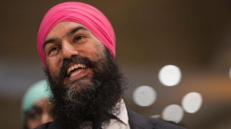 Despite the drop in seats, Jagmeet Singh in a celebratory speech on Tuesday said his party will now be