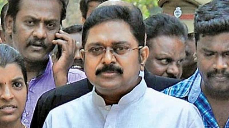Dhinakaran said he was revealing the information now since Panneerselvam was being critical of him in public fora, even while making efforts to mend fences. (Photo: File)