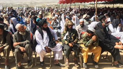 Taliban rally outside Kabul as they consolidate rule