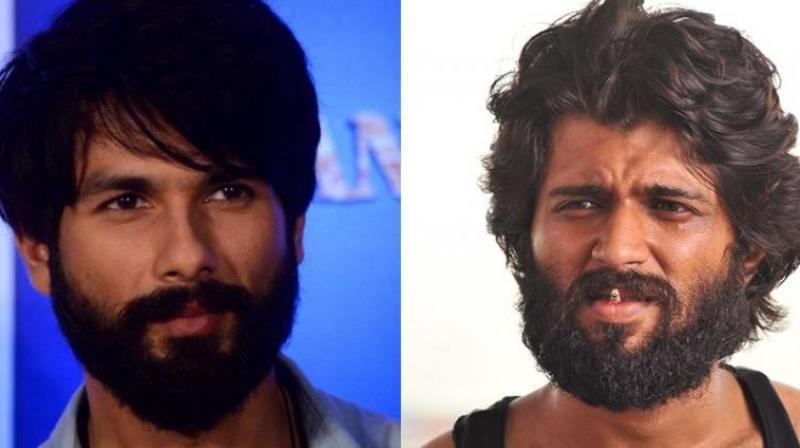 Shahid Kapoor, like Vijay Deverakonda, is growing beard for 'Arjun Reddy.'