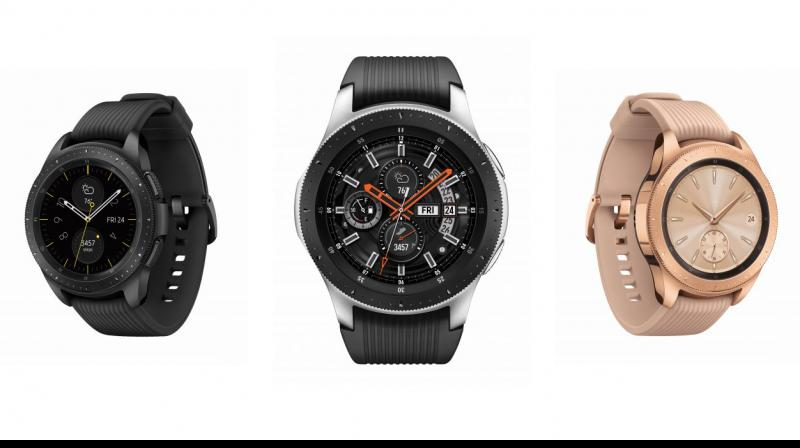 Samsung Galaxy Watch comes with Corning Gorilla Glass DX+.