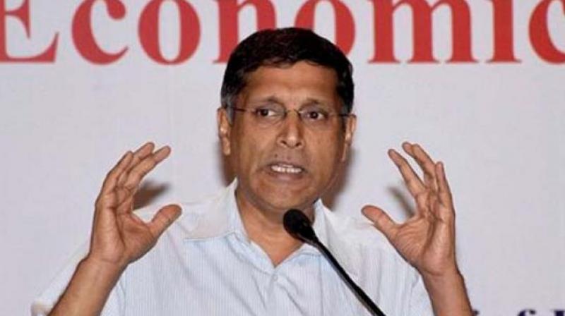 Outgoing chief economic adviser Arvind Subramanian.