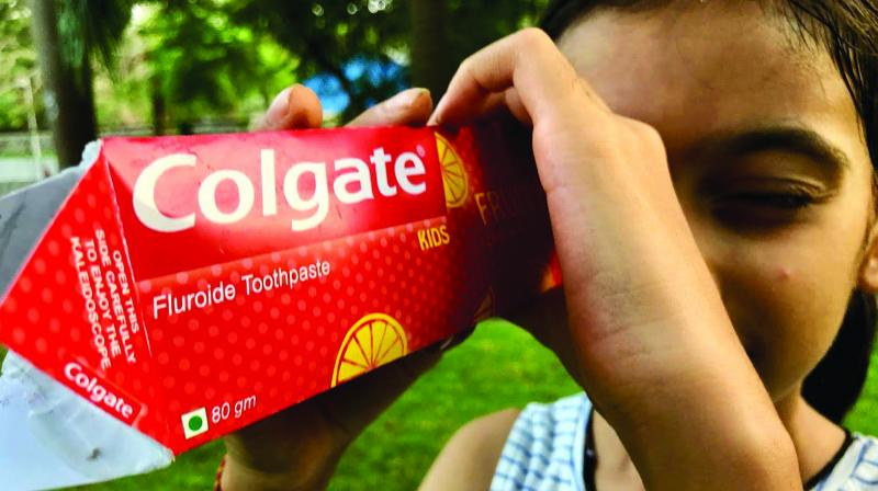 Colgate India highlights the power of smile