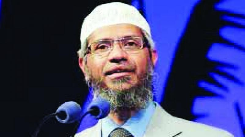 Naik, who is facing charges of inciting communal disharmony and committing unlawful activities in India, has come under fire over his provocative remarks against Hindus and Chinese residing in Muslim-majority nation. (Photo: File)