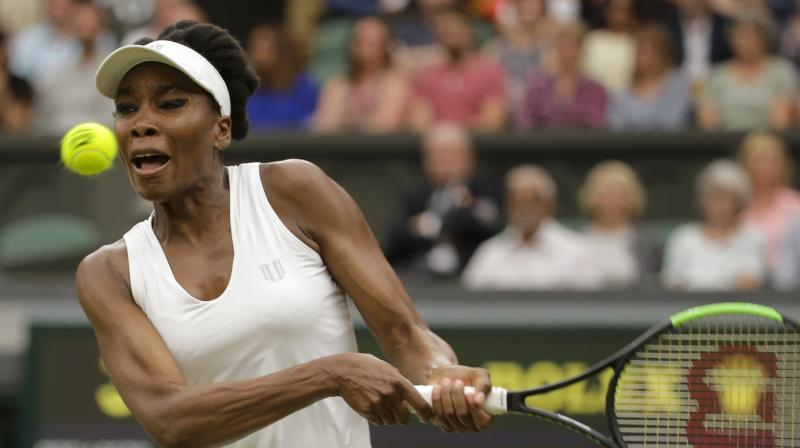 Williams fended off seven of the eight break points she faced, and won 61% of points when returning the Davis second serve. (Photo: AP)