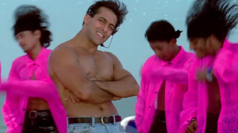 Salman Khan in 'Oh Oh Jane Jaana'.