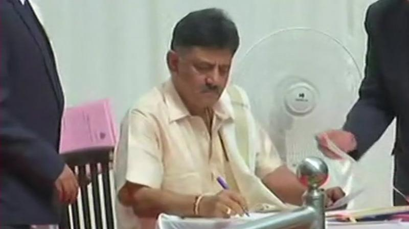 Shivakumar has been chased by the Income Tax Department and the ED since demonetisation in 2016. (Photo: ANI)