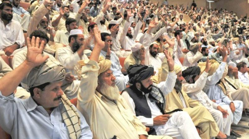 The ruling highlighted the role such councils -- known as panchayats, or jirgas -- play in the lives of many rural Pakistanis, who see the country's courtrooms as a distant presence. (Photo: AFP)